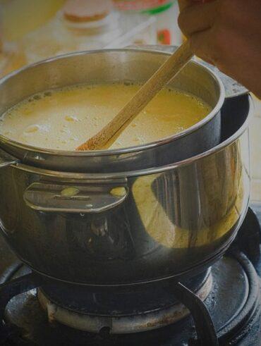 quelle femme a inventé la cuisson au bain-marie